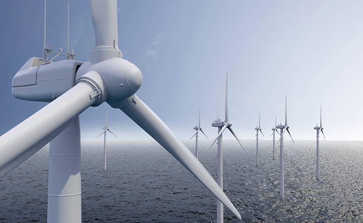Pitch and yaw control in wind turbines