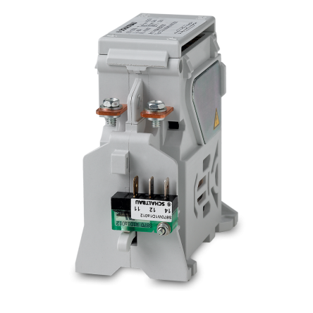 C294 – double pole DC contactor