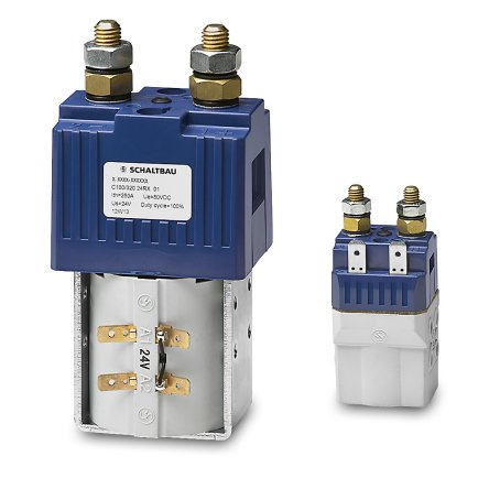 C100 – Battery contactors up to 80 V