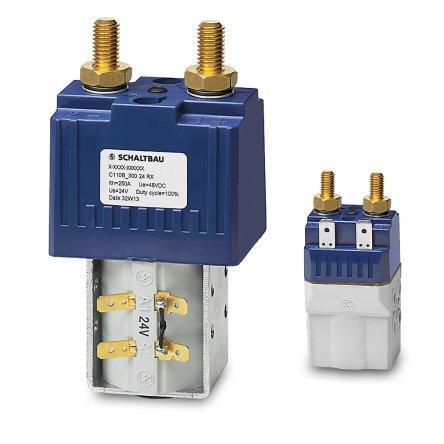 C110B – bidirectional battery contactor