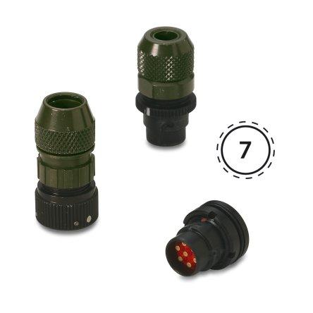 NF07 – Circular audio miniature connectors
