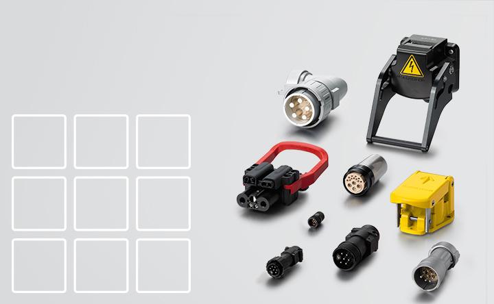 Brochure connectors