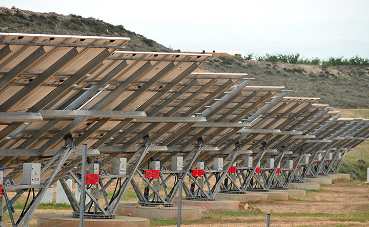 Limit switches in solar tracker systems
