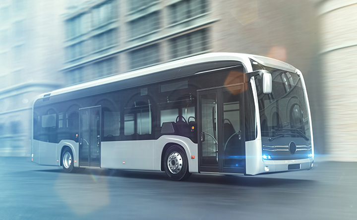 DC contactors in drives for electric buses