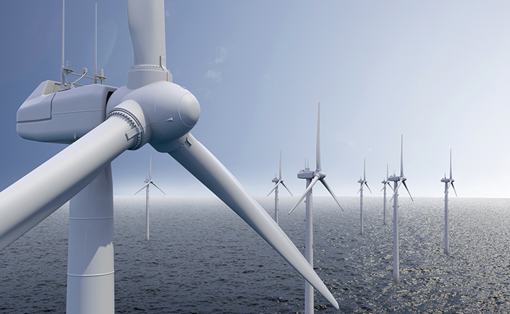 Pitch and yaw control in wind turbines