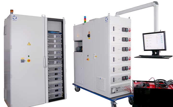 DC high-voltage contactors for battery test systems