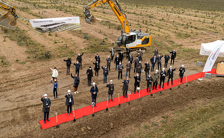 Ground-breaking for the new production plant of Schaltbau GmbH
